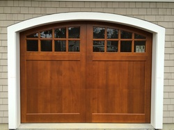 Clopay custom wood doors